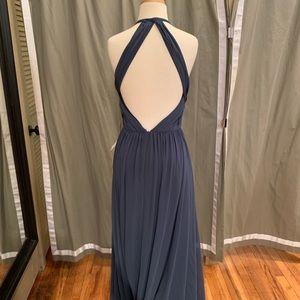 """Theia """"Allison"""" gown in Denim Blue size 10"""
